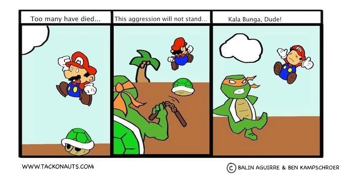 TMNT vs. Mario